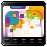 Designed technology abstraction. Stock Image
