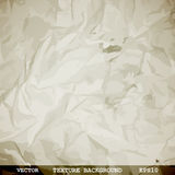Designed texture of crumpled paper Stock Photo