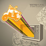 Designed vintage banner Royalty Free Stock Images