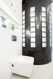 Designed washroom interior Stock Photography