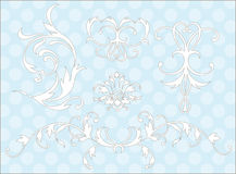 designelement Royaltyfria Bilder