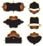 designelementset Royaltyfria Bilder