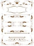 designelementtappning Royaltyfri Foto