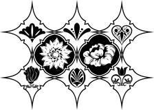 designelementvektor Royaltyfria Foton