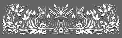 Designen av korten blom- design Royaltyfria Foton