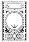 designen elemen den gotiska victorianen Royaltyfri Fotografi