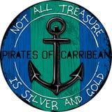 Designen piratkopierar skjortor från vektorillustrationer royaltyfri illustrationer