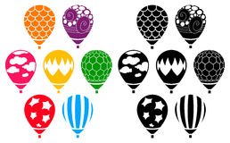 Designer Air Balloons Royalty Free Stock Photo