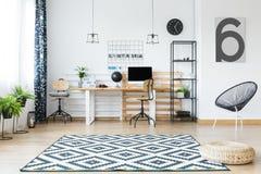 Free Designer Armchair In Office Interior Stock Photos - 97689413