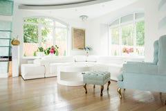 Designer armchair in luxury interior Stock Photo
