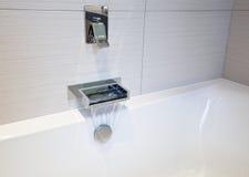 Designer bath fitting Stock Photography