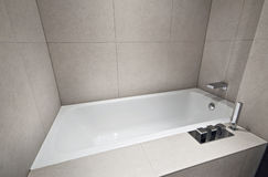 Designer bath tub Royalty Free Stock Images