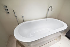 Designer bath tub Royalty Free Stock Photo