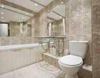 Designer bathroom stock photos