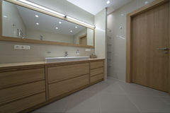 Designer bathroom Stock Photo