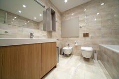 Designer bathroom Royalty Free Stock Image
