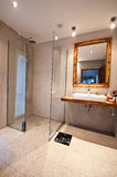 Designer bathroom Royalty Free Stock Images