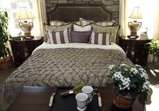 Designer bedroom Stock Images