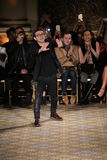 Designer Christian Siriano  walks the runway for the Christian Siriano collection Stock Image