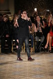 Designer Christian Siriano  walks the runway for the Christian Siriano collection Royalty Free Stock Photo