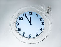 Designer clock Stock Photo