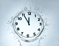 Designer clock Royalty Free Stock Photos