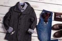 Designer clothes boutique. Royalty Free Stock Photo
