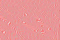 Designer colored background from lines ,Optical illusion Royalty Free Stock Photography