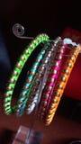 Designer Colorful-Armbänder Stockbild