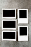 Designer concept - blank photo frames Stock Photography
