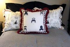 Designer decor pillows Stock Photo