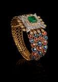Designer Diamond bracelets Stock Images
