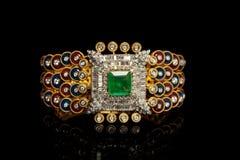 Designer Diamond bracelets Stock Photo