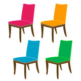 Designer dining chair graphic Stock Images