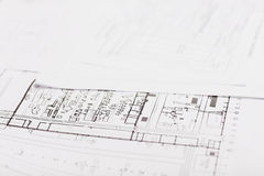 Designer drawing engineer and education Royalty Free Stock Image
