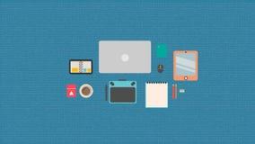 Designer equipment Stock Image