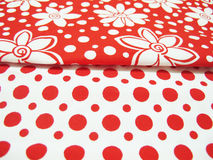Designer fabric stock photography