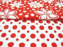 Designer fabric Stock Photography