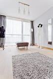 Designer and fashion room stock photos