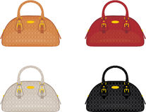 Designer female bags Royalty Free Stock Photography