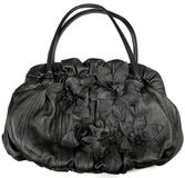 Designer female leather handbag Royalty Free Stock Photo