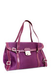 Designer fuschia purse Stock Photo
