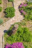 Designer garden path Stock Photo