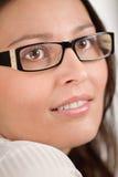 Designer glasses - trendy woman fashion Royalty Free Stock Photos