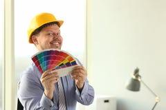 Designer gr?fico Holt Architectural Color Palette fotos de stock royalty free