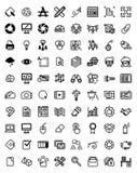 Designer Icons Set Stock Photo