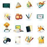 Designer Icons Set Stock Photos