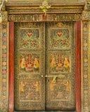 Designer Indian Door Stock Photography