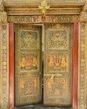 Designer Indian Door Stock Images