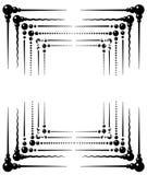 designer inramniner den dekorativa vektorn stock illustrationer